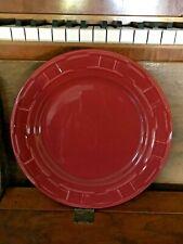 Longaberger Woven Traditions Paprika Luncheon Plate Usa