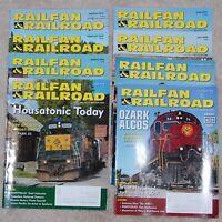 Railfan & Railroad Magazine 8 Issues of 2020