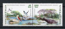 More details for albania 2017 mnh divjake-karavasta national park 2v set pelicans birds stamps