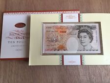 Year 2000 Special Limited Edition Bank of England Ten Pounds Gem-Uncirculated