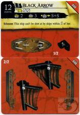 Wizkids Pirates Pocketmodel - Black Arrow (ship) RotF 040 C