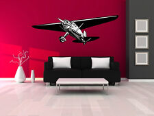 "Vintage WW2 Airplane Wall Decal Vinyl Aviation Sticker 20""x60"""