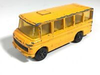 Corgi Juniors Mercedes Benz Bus Made Great Britain Vintage Toy Car Yellow