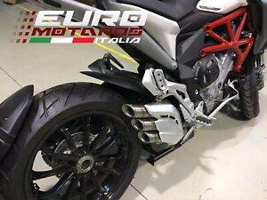 MV Agusta Turismo Veloce /Stradale Silmotor Exhaust Silencer Inox Road Legal New