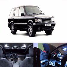 LED Lights Interior Package Kit For Range Rover Full Size 1996-2001 -P38 (White)