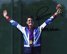 Peter Wilson Genuine Hand Signed 10X8 Photo London 2012 AFTAL COA (C)