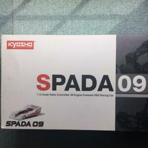 Kyosho 1/12 RC Car Spada 09 Chassis & Painted body w/Starter Box from Japan
