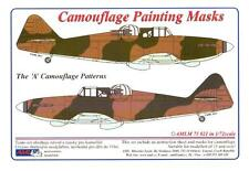 "AML Models 1/72 CAMOUFLAGE PAINT MASKS Boulton Paul Defiant Mk.I ""A"" Patterns"