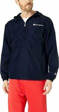 Champion Men's Packable Jacket, Navy, X-Large