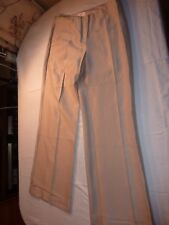 LAURA ASHLEY OCCASION UK 12 EUR 38 CREAM VISCOSE/RAYON/POLYESTER TROUSERS