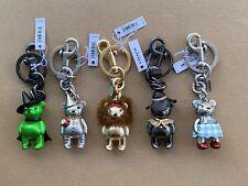 5 COACH WIZARD OF OZ Bag Charm Key Chain Fob F35250 35246 35247 35249 New
