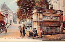 BLOIS FRANCE LA FONTAINE LOUIS XII~L L LEVY FILS POSTCARD