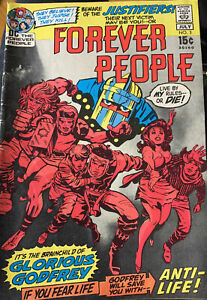The Forever People 3, DC Comics, Anti-Life by Jack Kirby, 1st Glorious Godfrey!