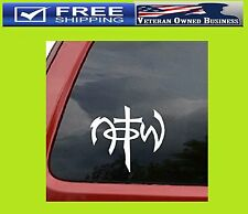 NOT OF THIS WORLD VINYL DECAL STICKER JESUS CHRISTIAN Faith Car Window Lap Top