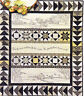 Over the River & Through the Woods - stitchery & pieced quilt PATTERN