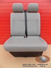 VW T5 GP Sitzbank Sitz Beifahrersitz 2er Doppelbank  Kunstleder