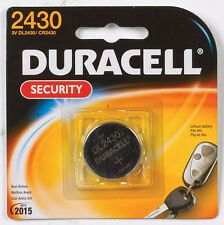 NEW! DURACELL 2430 Security Medical Fitness Electronic 3 Volt Lithium Battery