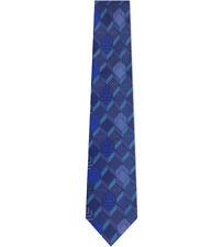 Turnbull & Asser Multi Square Pattern Printed Tie 8cm