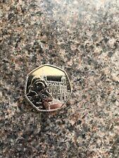 Paddington Bear At The Tower Of London 50p Coin