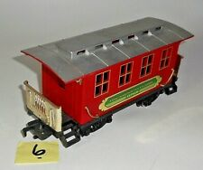 TOY STATE AMERICAN CLASSIC EXPRESS PASSENGER CAR G Scale FREIGHT Train Car 6