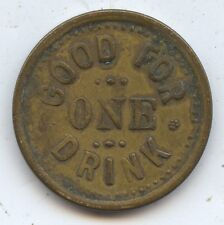 US Trade Token Stag Inn Reno NV (#7452) Good for One Drink. Carefully Check