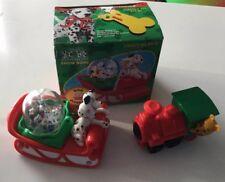 McDonalds Toy 101 Dalmatians 1996 Snow Globe Sled Winnie The Pooh Thunder Train