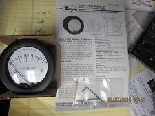 "DWYER 2-5005 MINIHELIC II Differential Pressure Gage 2"" Range 0-5"" W.C. 5000 Ser"