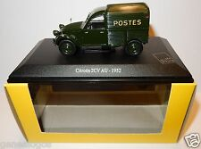 b NOREV CITROEN 2CV 2 CV AU 1952 POSTES POSTE PTT 1/43 in luxe BOX