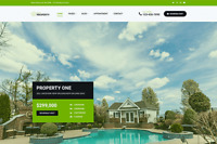 Property One - Real Estate  Wordpress Website (with Demo Content)