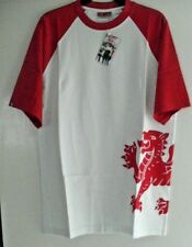 MENS/BOYS TOUR COLLECTION WALES T-SHIRT LARGE NEW