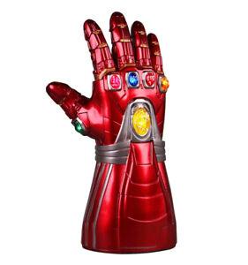 Adult Iron Man Glove Gauntlet LED Thanos Avengers Endgame Infinity War Props
