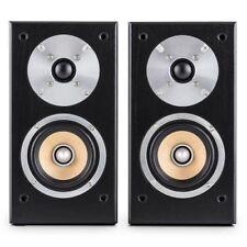 Auna - Paire D Enceintes Etagere hifi Home CINEMA Systeme Audio 2 voies 50w RMS