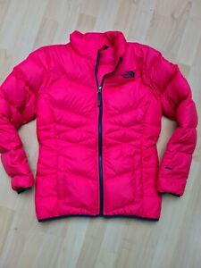 The North Face Girl's Pink Andes Down Jacket Size L Excellent Condition