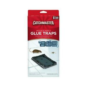 Mouse & Insect Glue Trap, 6-Pk.