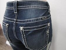 NWT MISS ME Womens JG7759A Slim Boyfriend Ankle Capri Denim Jeans 30 X 26