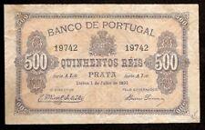 PORTUGAL - 500 REIS - 1891 - Série: AI.x - Nº. 19742 - Pick. 65  - VF
