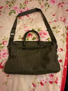 Genuine Calvin Klein Messenger Bag in Grey (Used) Good Condition