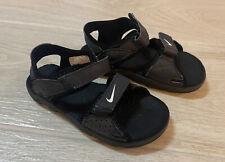 Nike Boys Toddler Shoes Black Sandals