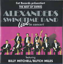 Alexanders Swingtime Band: Live (CD, Cat Records, 1994) German Import USED VG