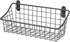 Small Wire Basket Decorative Storage Wire Basket Wall Mounted Wire Basket