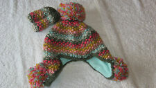 Next 3-9 months MULTICOLOUR HAT & MITTS SET BNWT Baby Girls New Winter 3-6-9