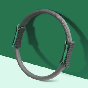 Pilates Resistance Ring Yoga Portable Circle Dual Grip Exercise Fitness Tool