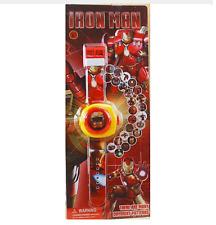 Reloj Proyector IRON MAN Projection watch Proyecta 24 imágenes
