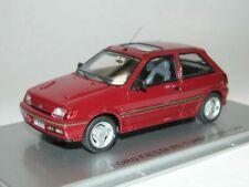 FORD FIESTA RS TURBO MKIII 1989 RED KESS KE43015020 1/43 MK3 RESINE 258 PIECES