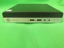 HP ProDesk 400 G5 mini PC de Escritorio Sff Core i3-8100T   8GB DDR4   128   WIN10 SSD
