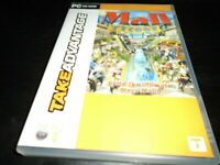 Mall tycoon 1 pc game - complete with manual - fully tested and working