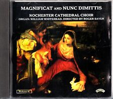 Magnificat & Nunc Dimittis-Rochester Cathedral Choir CD-William Whitehead, Organ
