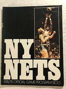 1974 75 NEW YORK NETS vs KENTUCKY Colonels JULIUS ERVING MELCHIONNI Billy PAULTZ