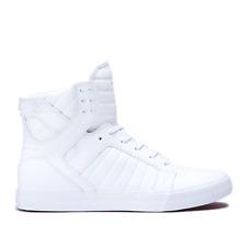 SUPRA Vaider Black Golden White 08044-057 Skateboarding Shoes 8 cc8f88294835