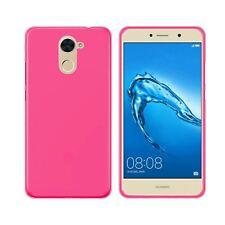 Funda gel TPU Lisa protector cristal templado Samsung serie Galaxy J1 Rosa